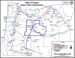Oregon Utility Infrastructure Map Mini