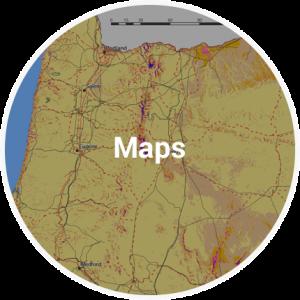 Economic Data Maps Central Oregon