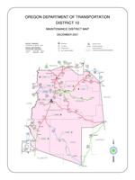 ODOT District 10 Map Mini