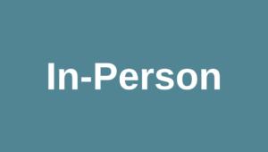In-person registration