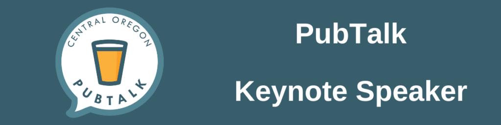 PubTalk Keynote speaker
