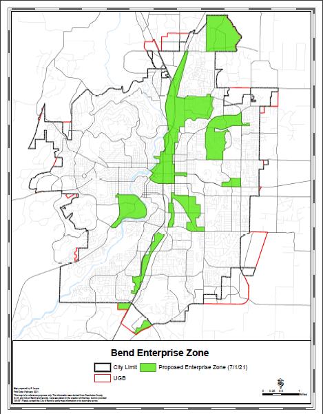 Proposed enterprise zone